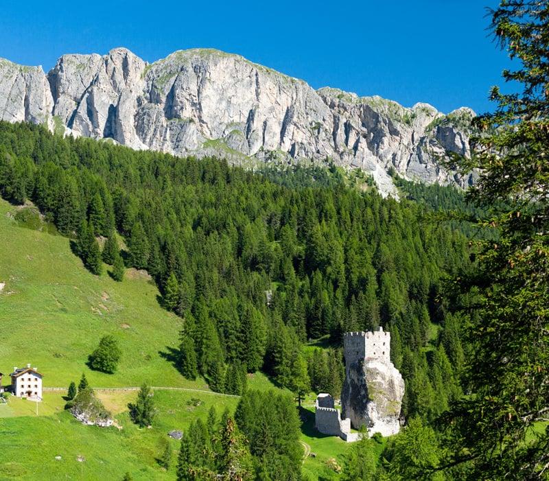 Das Schloss Andraz