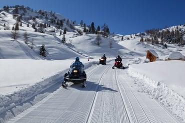 Snowmobiles circuit