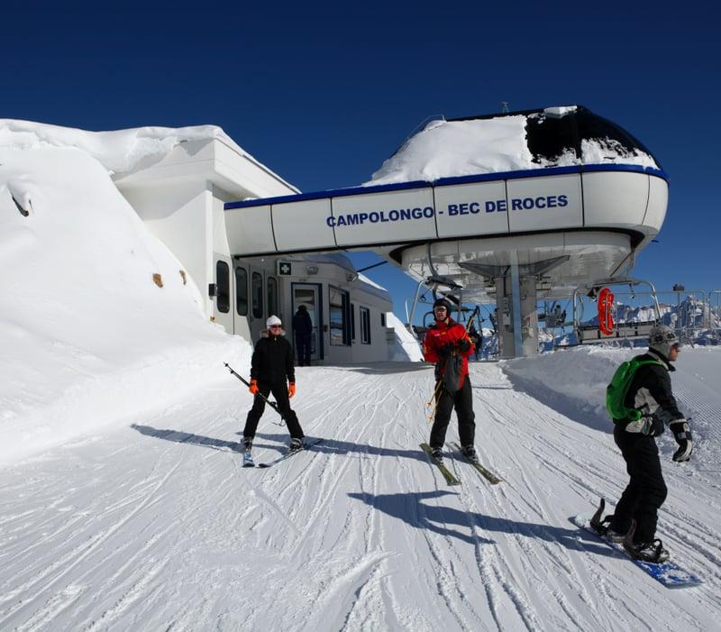 Berghütte Bec de Roces