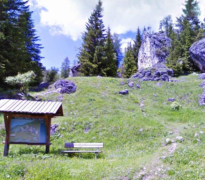 Climbing Sass de Bèita