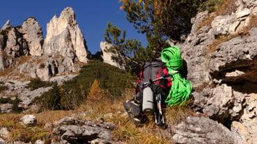 Felskletterwand Falesia Bec de Roces