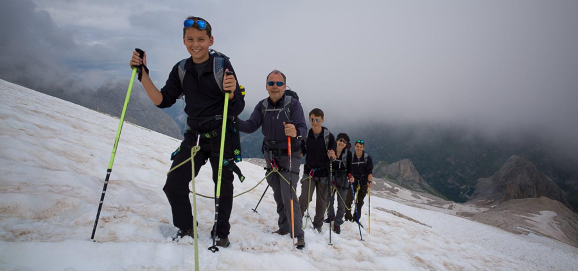 Gletscher Trekking
