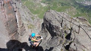 Bis 30.09.16 Klettersteig mit Bergführer
