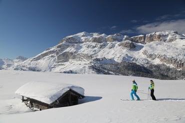 Skifahren bis zum 9. April 2017 im Arabba-Marmoalda Skiarena