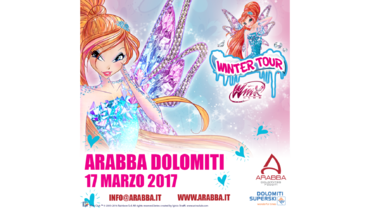 17.03.17 Winx Winter Tour Arabba
