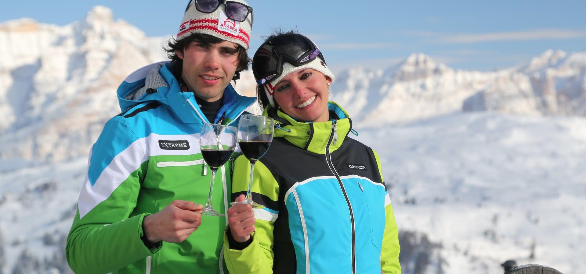 08.04.17 Ski & Wine Arabba - Marmolada