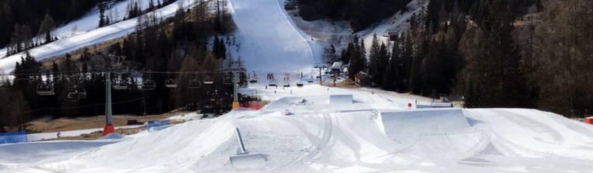 SNOWPARK: Arabba SuperPark ist geöffnet.