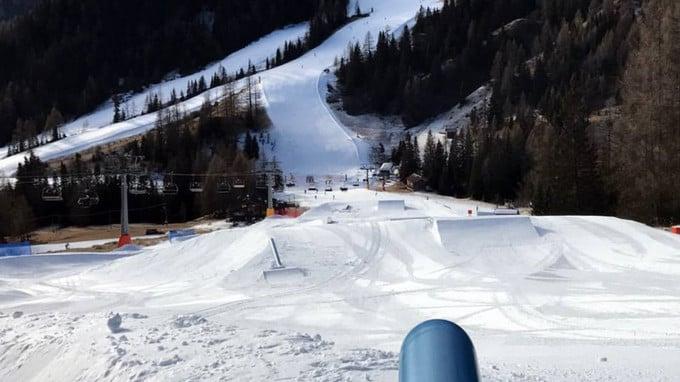 SNOWPARK: Aperto Arabba SuperPark