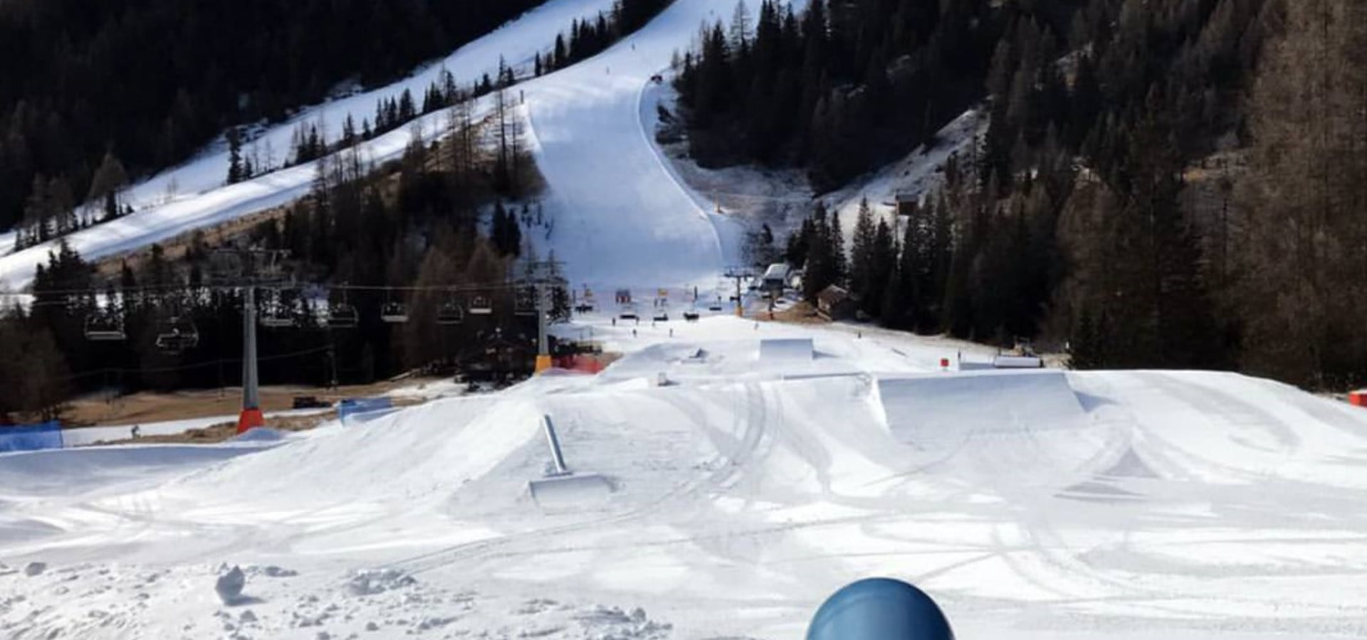SNOWPARK: The Arabba SuperPark is now open