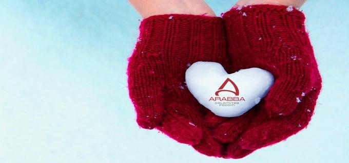 Ein Valentinstag im Herzen der Dolomiten