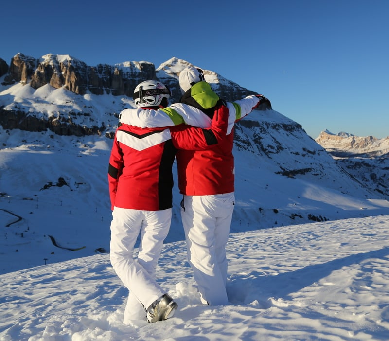 Valentine's Day in the Dolomites