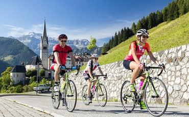 Arabba: un'estate a pedali nelle Dolomiti