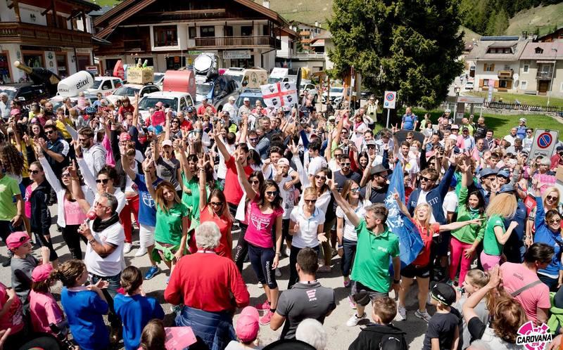 25.05.2017 Straßensperren Giro d'Italia