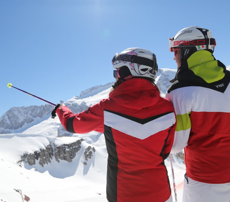 "Ski Tour ""The Queen"" The Marmolada Glacier"
