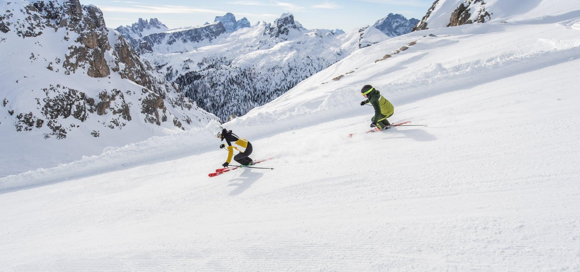 Ski Tuor Lagazuoi - Falzarego Pass