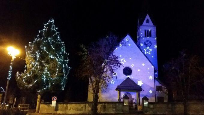Weihnachten in Arabba im Herzen der Dolomiten UNESCO Weltnaturerbe