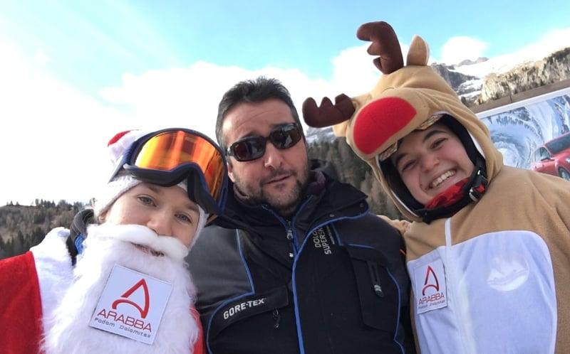 Il Natale sulle Dolomiti di Arabba