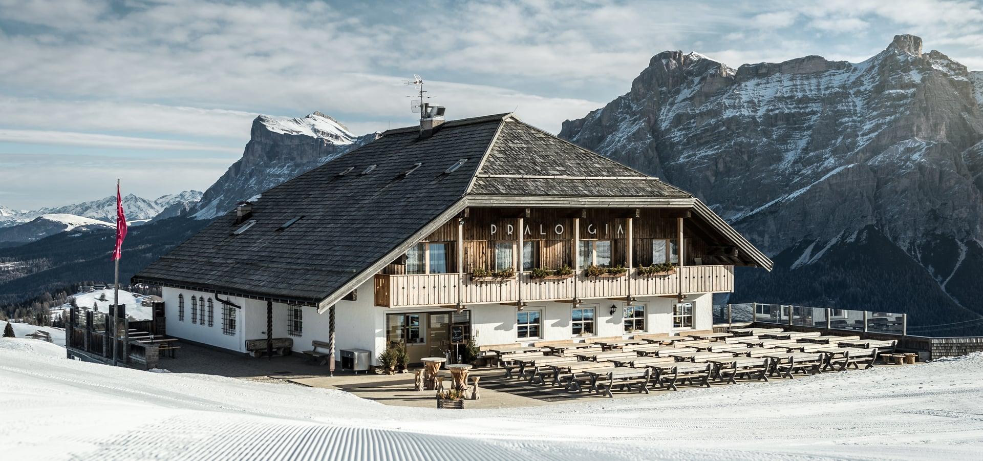 Berghütte Pralongià