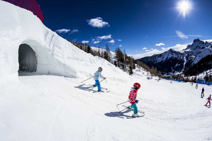 Arabba still offers unforgettable skiing days in the Dolomites