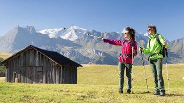 La montagna d'estate: ad Arabba la si scopre a piedi