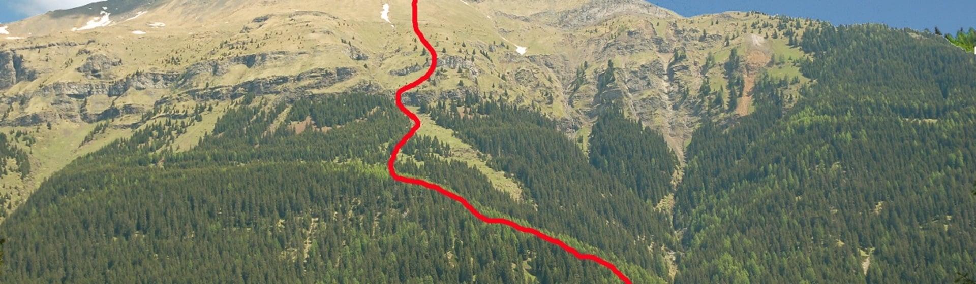 Sunday 22nd July 8 Vertical Col de Lana