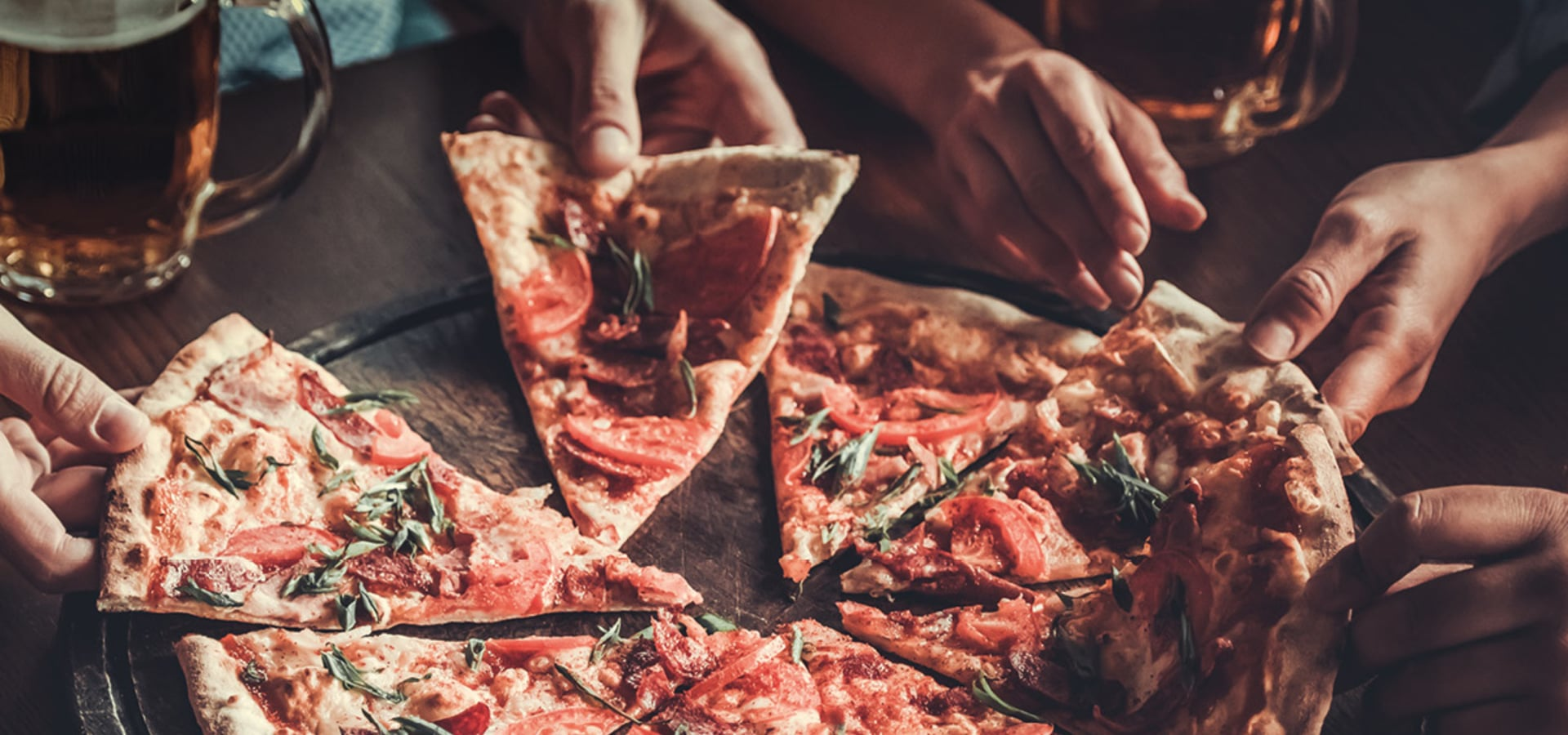 Pizza Party al Gran Bar del Rifugio Luigi Gorza