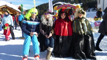 Carnival in the Heart of the Dolomites