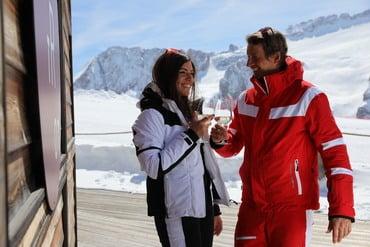Al via la terza edizione dello Ski & Wine Arabba - Marmolada
