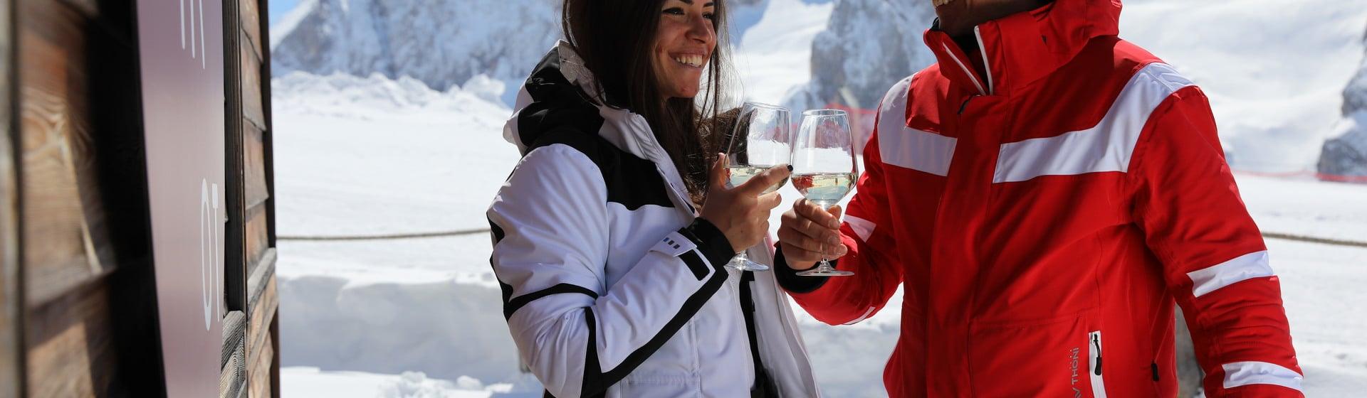 Third edition of Ski & Wine Arabba - Marmolada