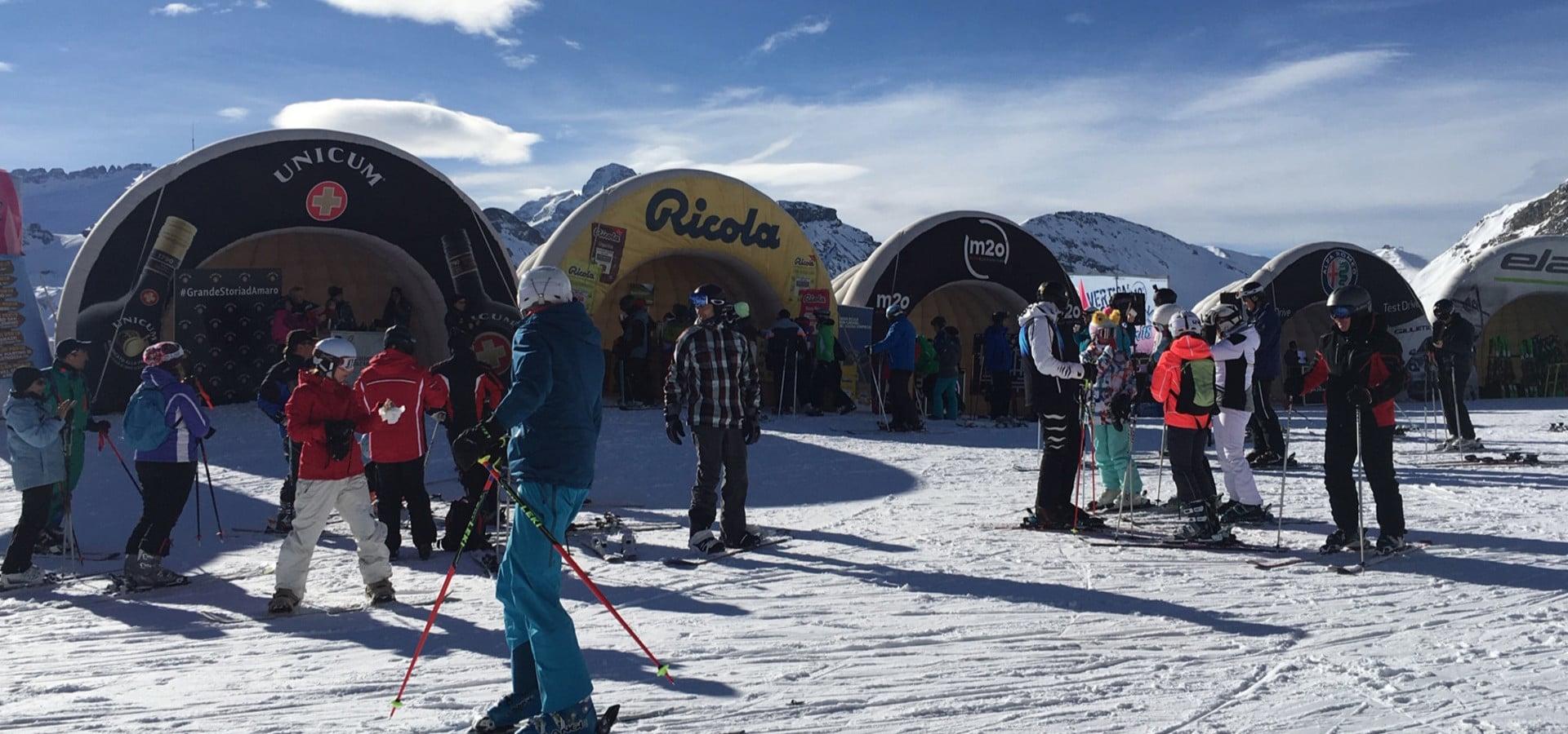 Vertical Winter Tour 2019 fa Tappa ad Arabba
