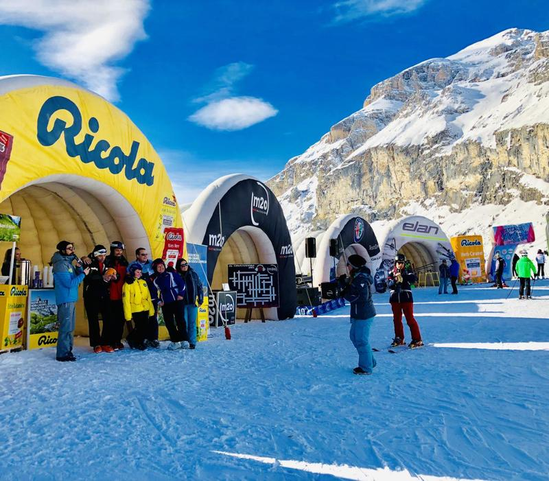 Vertical Winter Tour 2019 fa Tappa ad Arabba