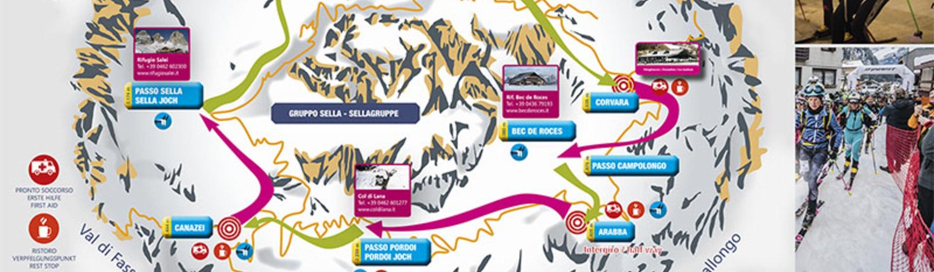 The countdown to the 24th edition of the Sellaronda Skimarathon has begun.