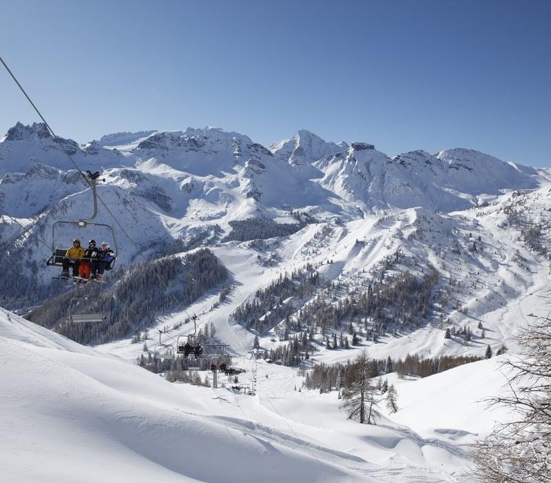 Arabba ist bereit für die Eröffnung der Skisaison 2019/2020