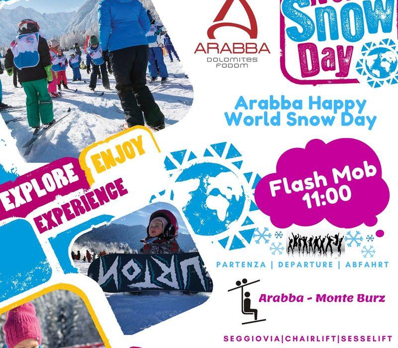 Domenica 19 gennaio 2020 è il World Snow Day