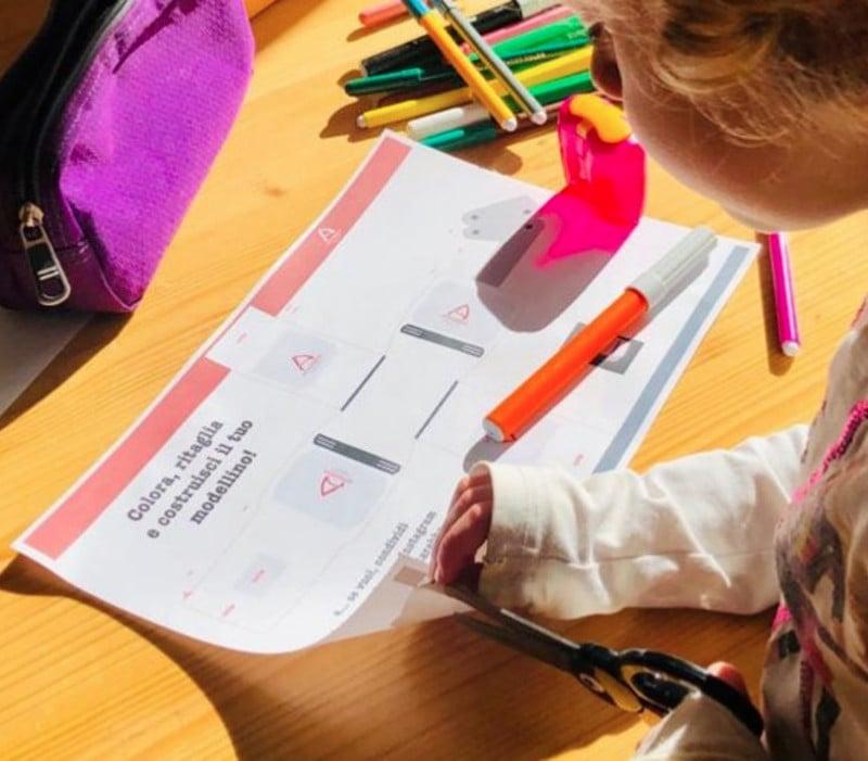 Per i bambini: Stampa, colora, ritaglia, incolla e...