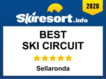 "Arabba-Marmolada AWARDED AS ""BEST SKI CIRCUIT"" WITH SELLARONDA"