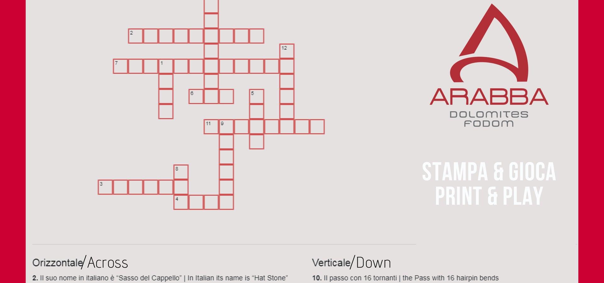 The Crossword Puzzle
