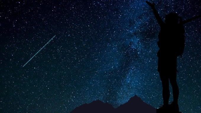 10. August: wo kann man beobachten das shooting stars in den Dolomiten von Arabba