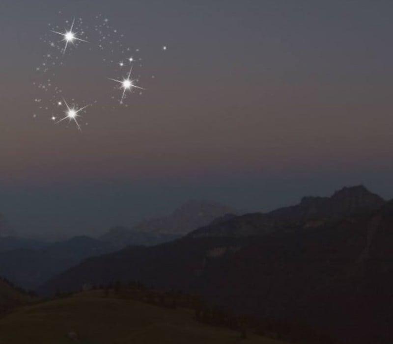 I luoghi dove ammirare le stelle cadenti nelle Dolomiti di Arabba