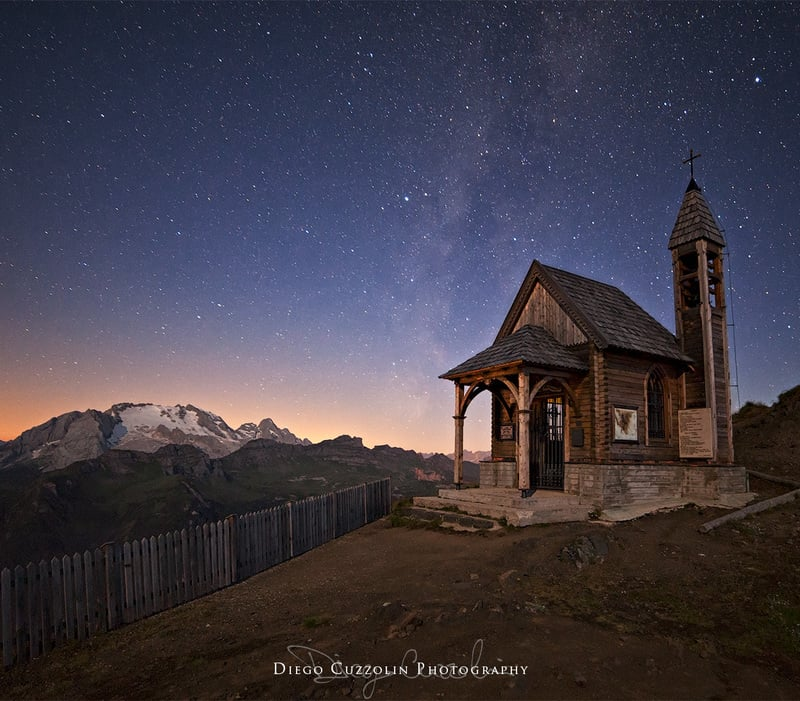 Must go places to fully enjoy the shooting star showers in the Dolomites of Arabba