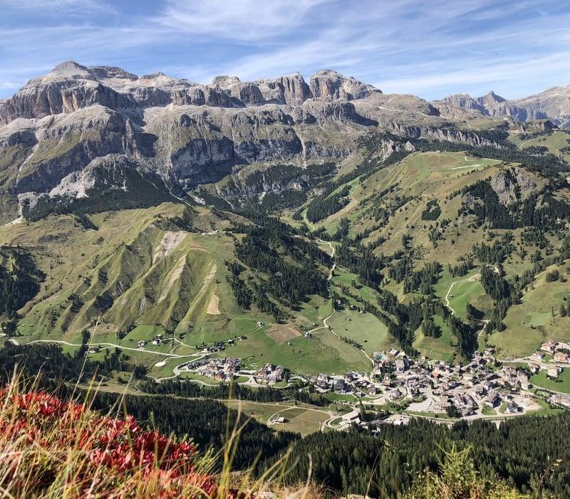 Copia di Autumn in Arabba, in the heart of the Dolomites