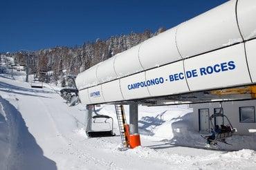 A partire dal 07/12 possibile apertura di due piste a Passo Campolongo