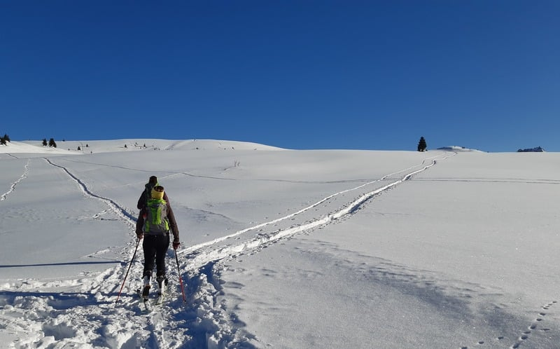 Altopiano del Cherz Weg