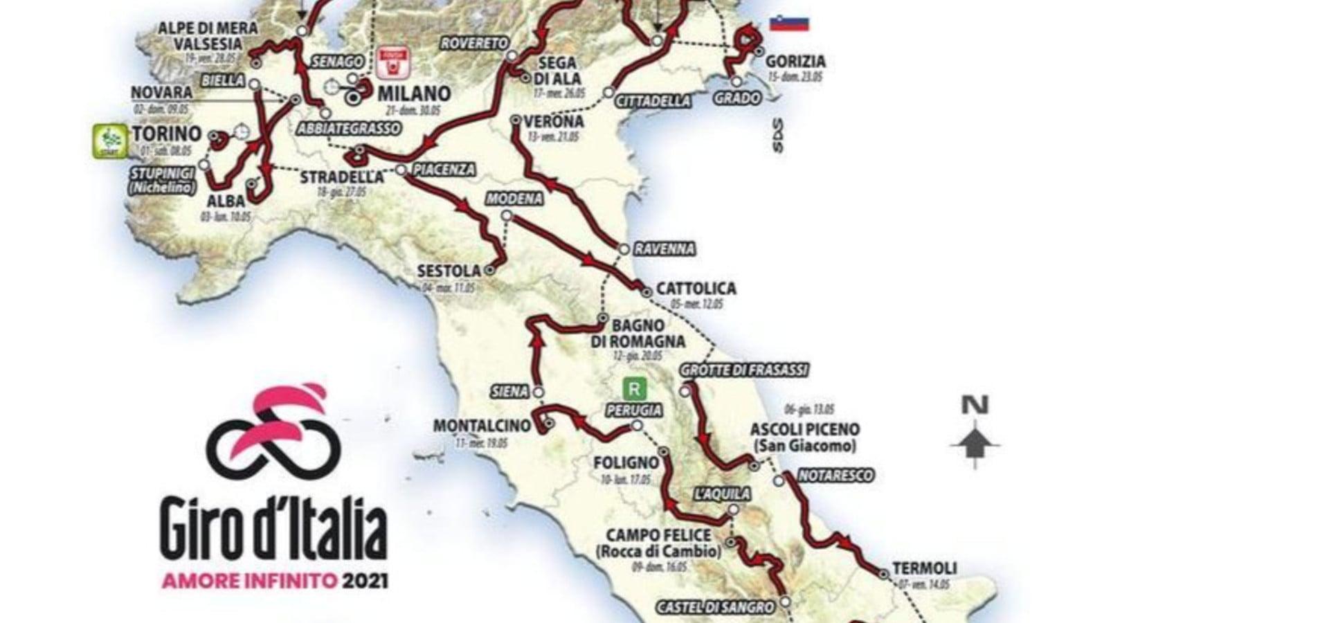 #Amoreinfinito sulle Dolomiti | il 24.05.21 il Giro d'Italia passa per Arabba!