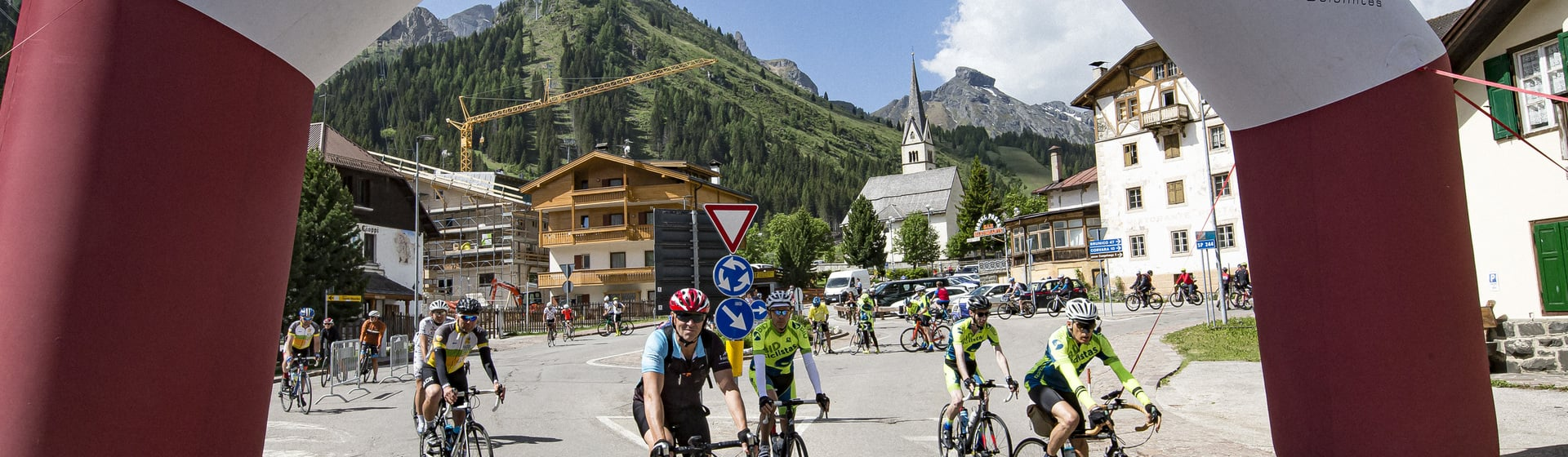 Let's start the 4th edition of the Dolomites Bike Day