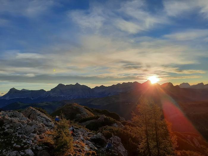 Per emozionarsi al risvegio: Alba ai Bec de Roces