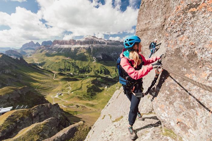Via Ferrata delle Trincee con guida alpina