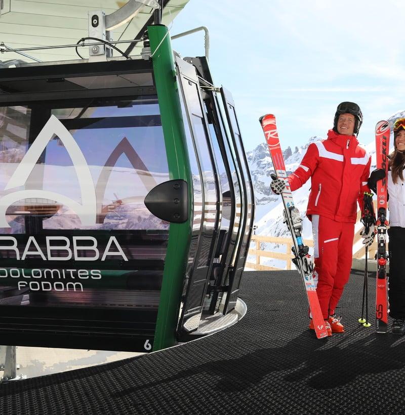 Geöffnete Anlagen in Skigebiet Arabba
