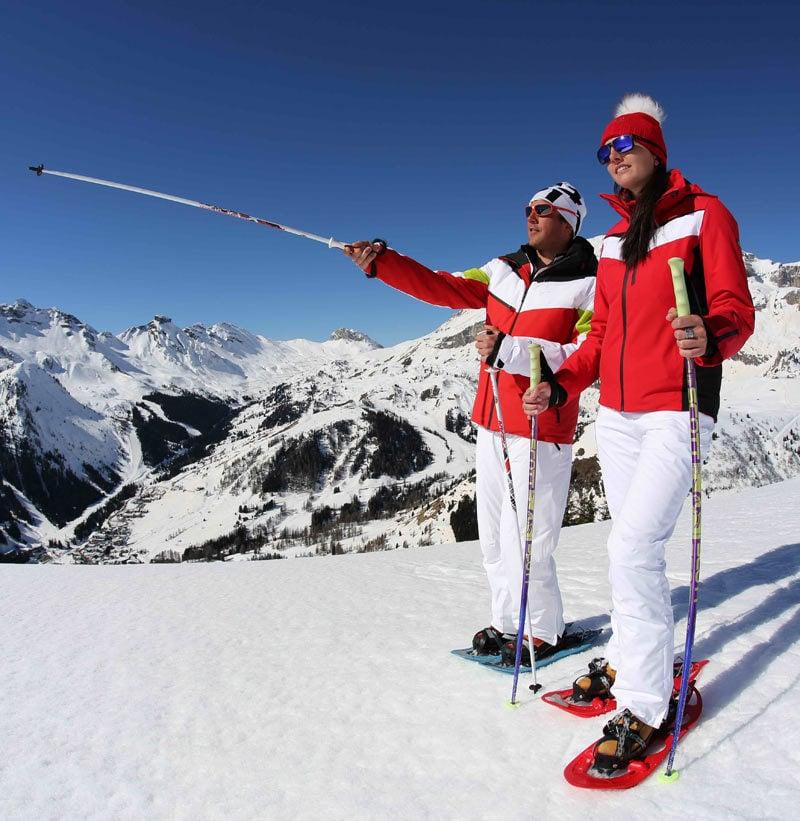 Ciaspolate nelle Dolomiti