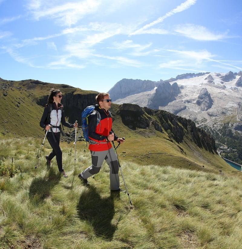 Wandergebiet der Extraklasse in den Dolomiten